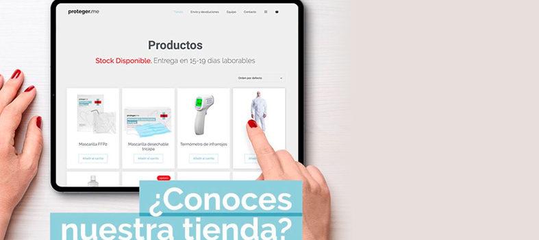 tienda online de Materia sanitario de protección Proteger.me